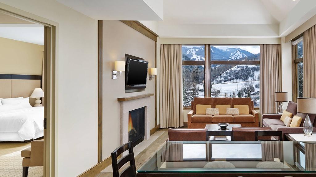 Westin Riverfront Beaver Creek Luxury Suite - Living Room