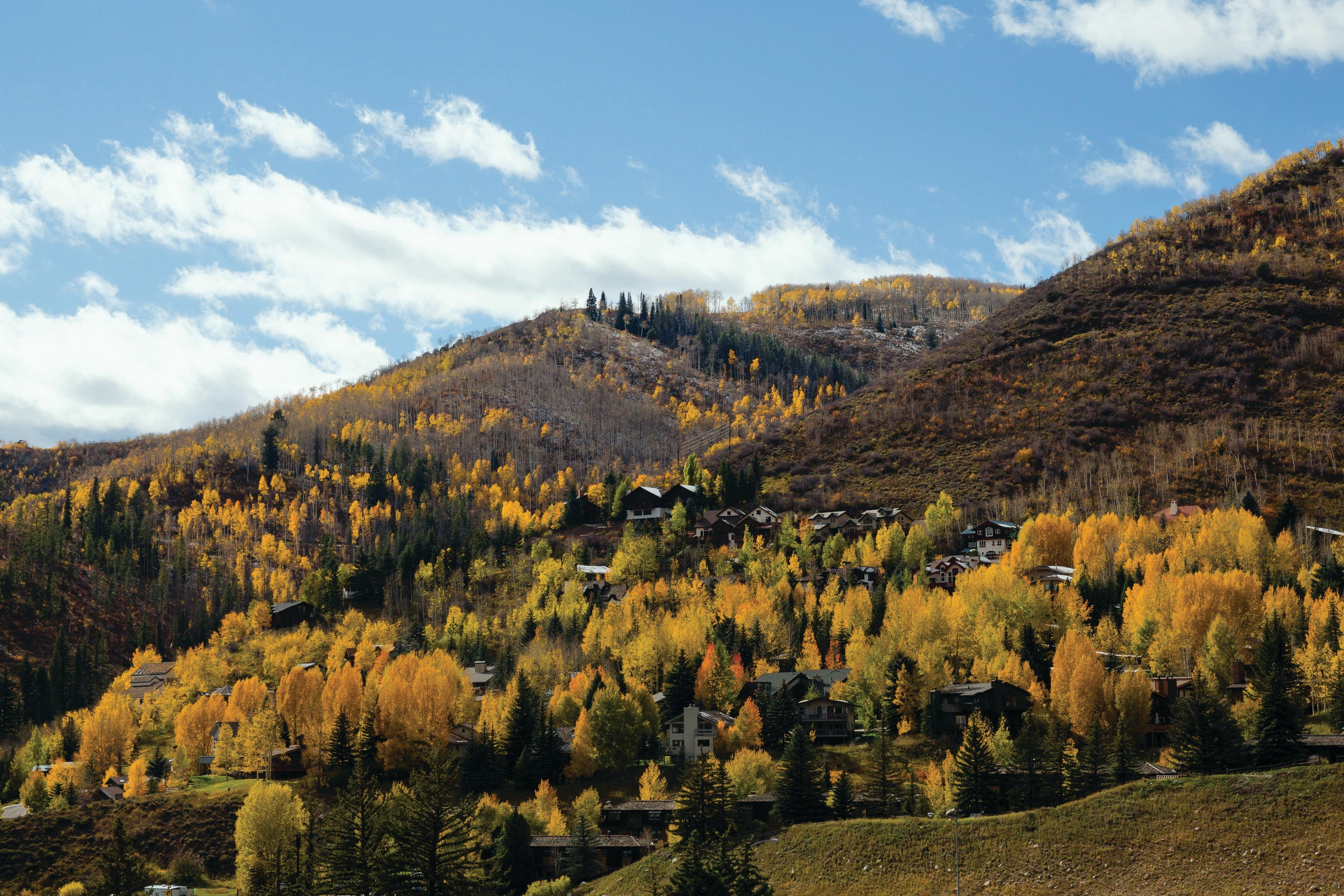 Scenic Mountains of Vail