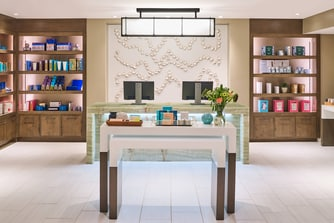 Spa Reception and Boutique