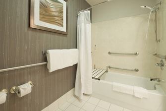 Palmdale California Hotel Accessible Bathroom