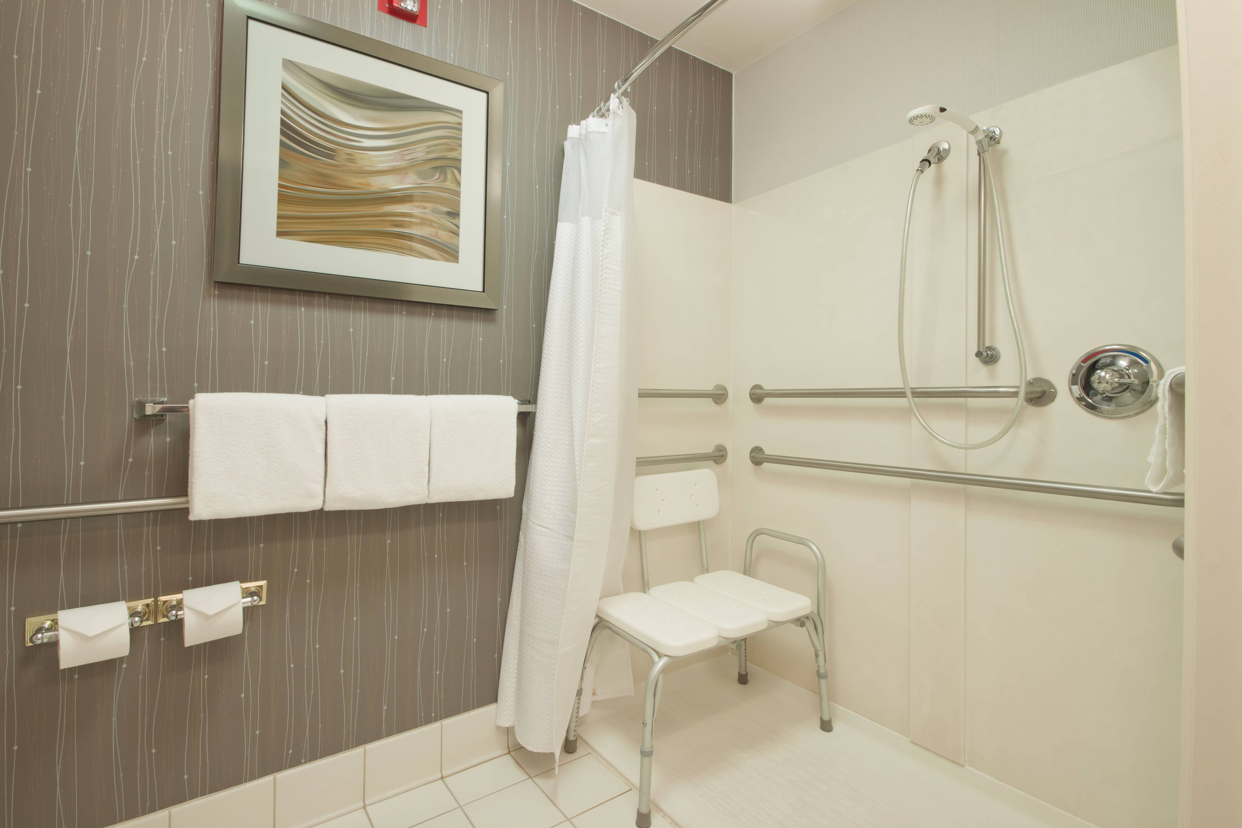 Palmdale California Hotel Accessible Shower