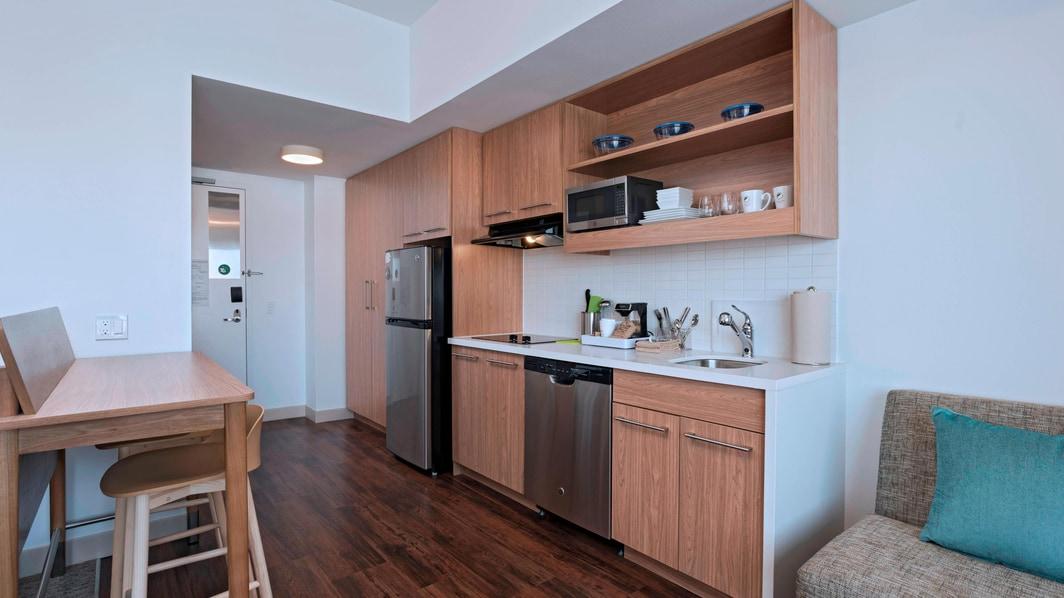 Suite Studio King - Cocina