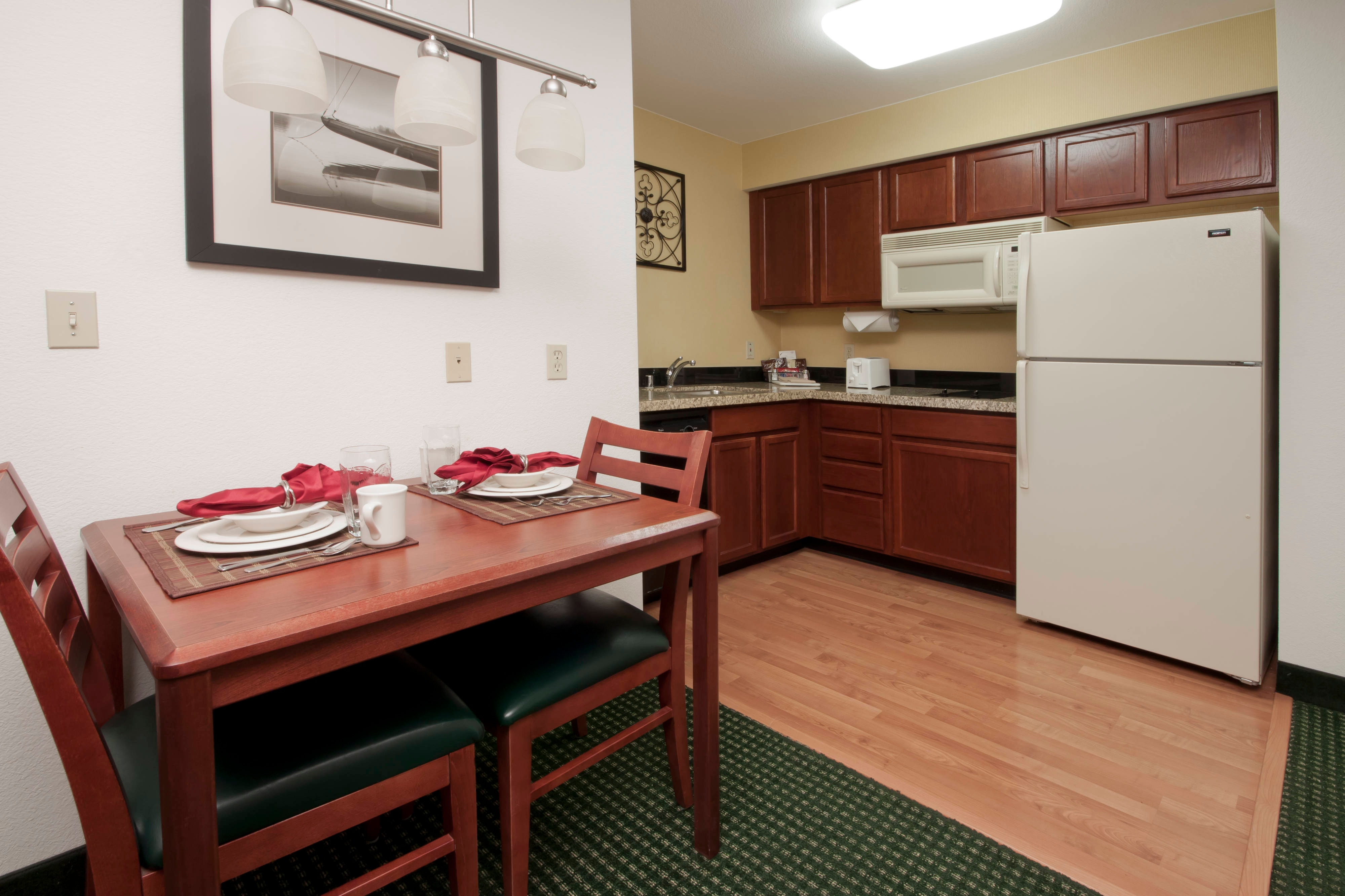 Palmdale California Hotel Studio Kitchen