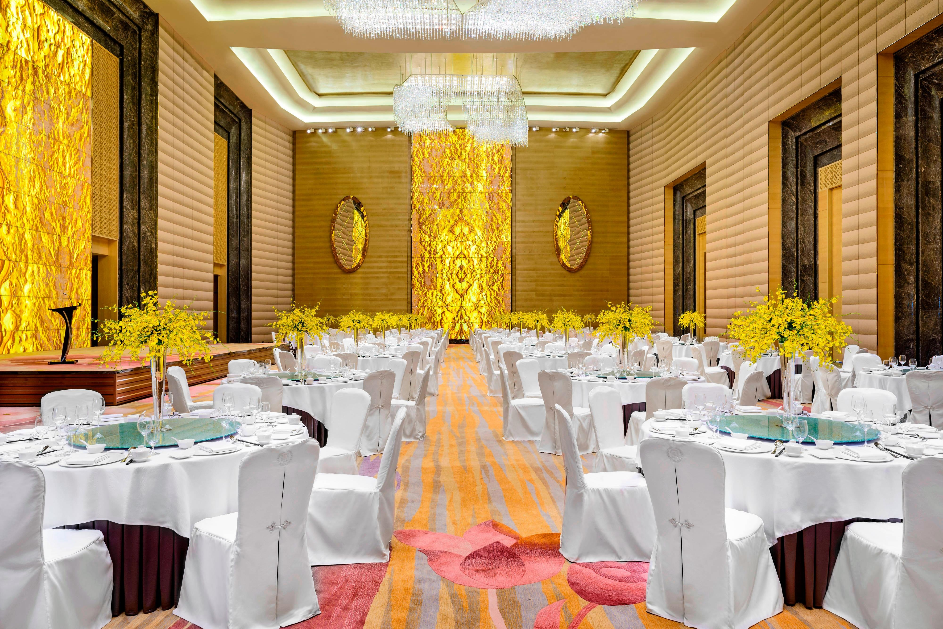 Grand Ballroom with Banquet