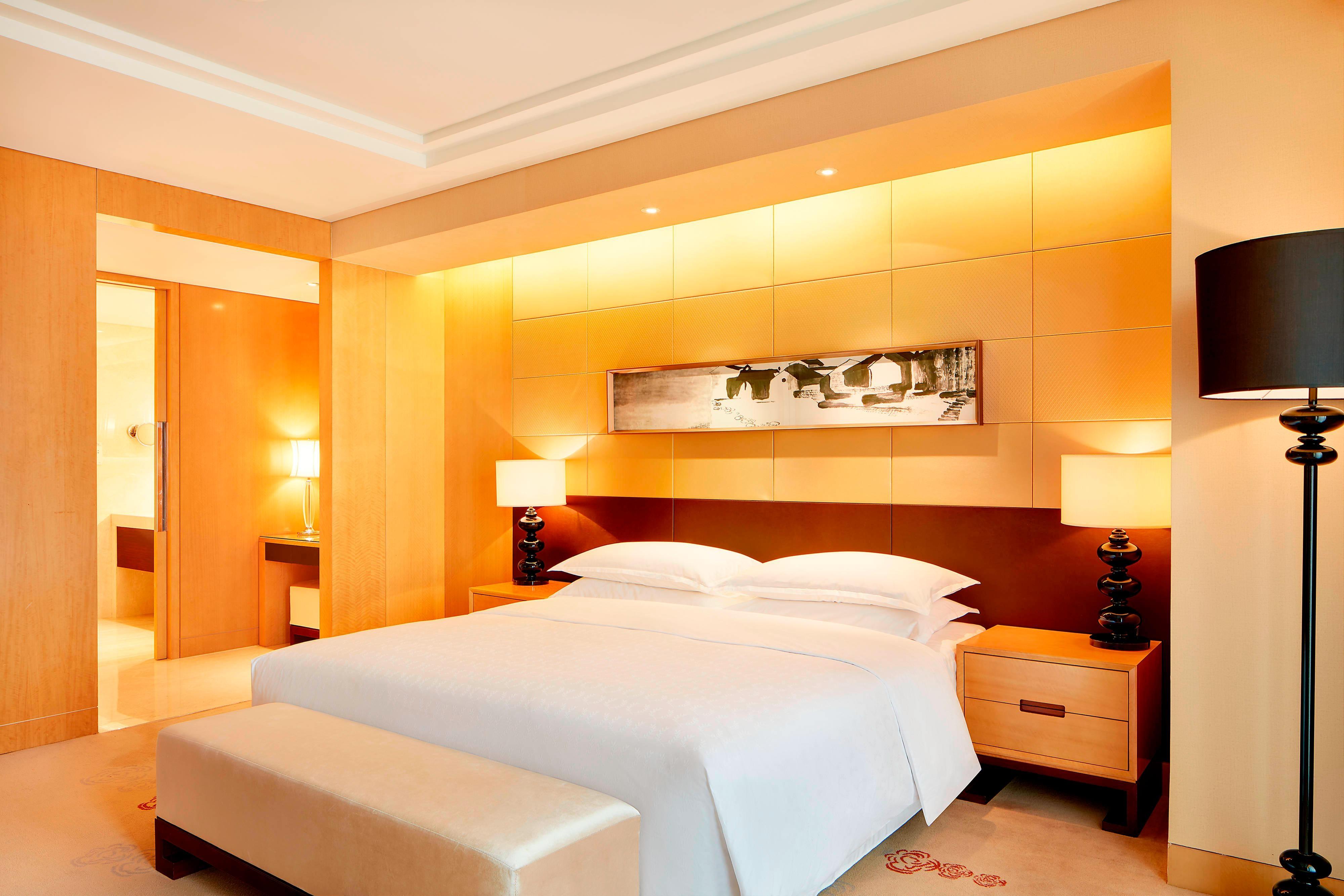 Chambre d'une suite de luxe