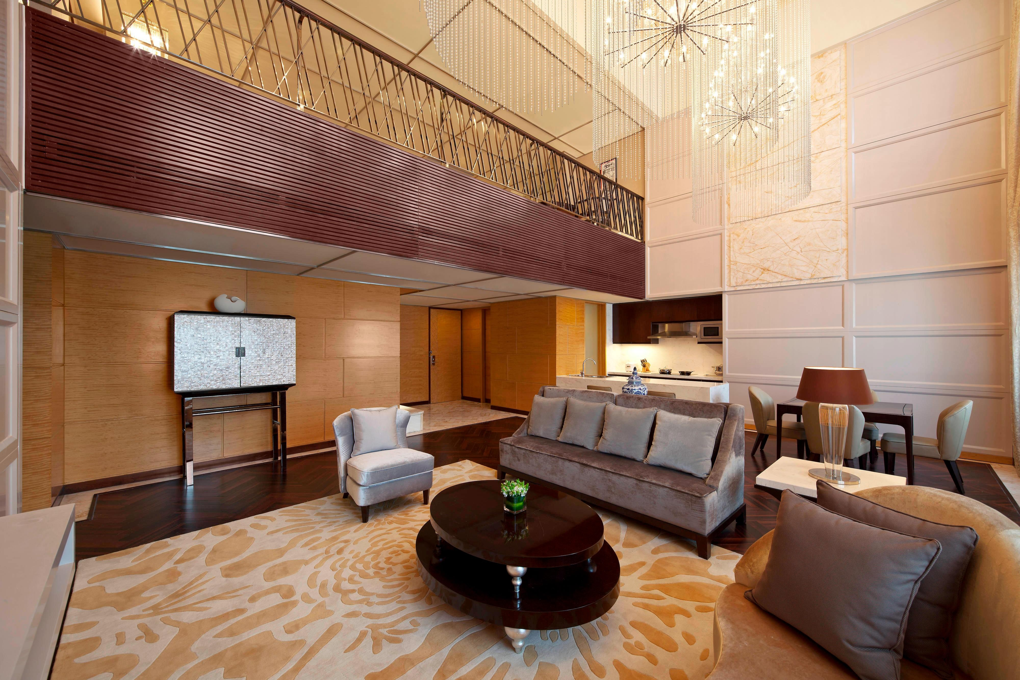 Duplex - Two-Bedroom Suite - Living Room