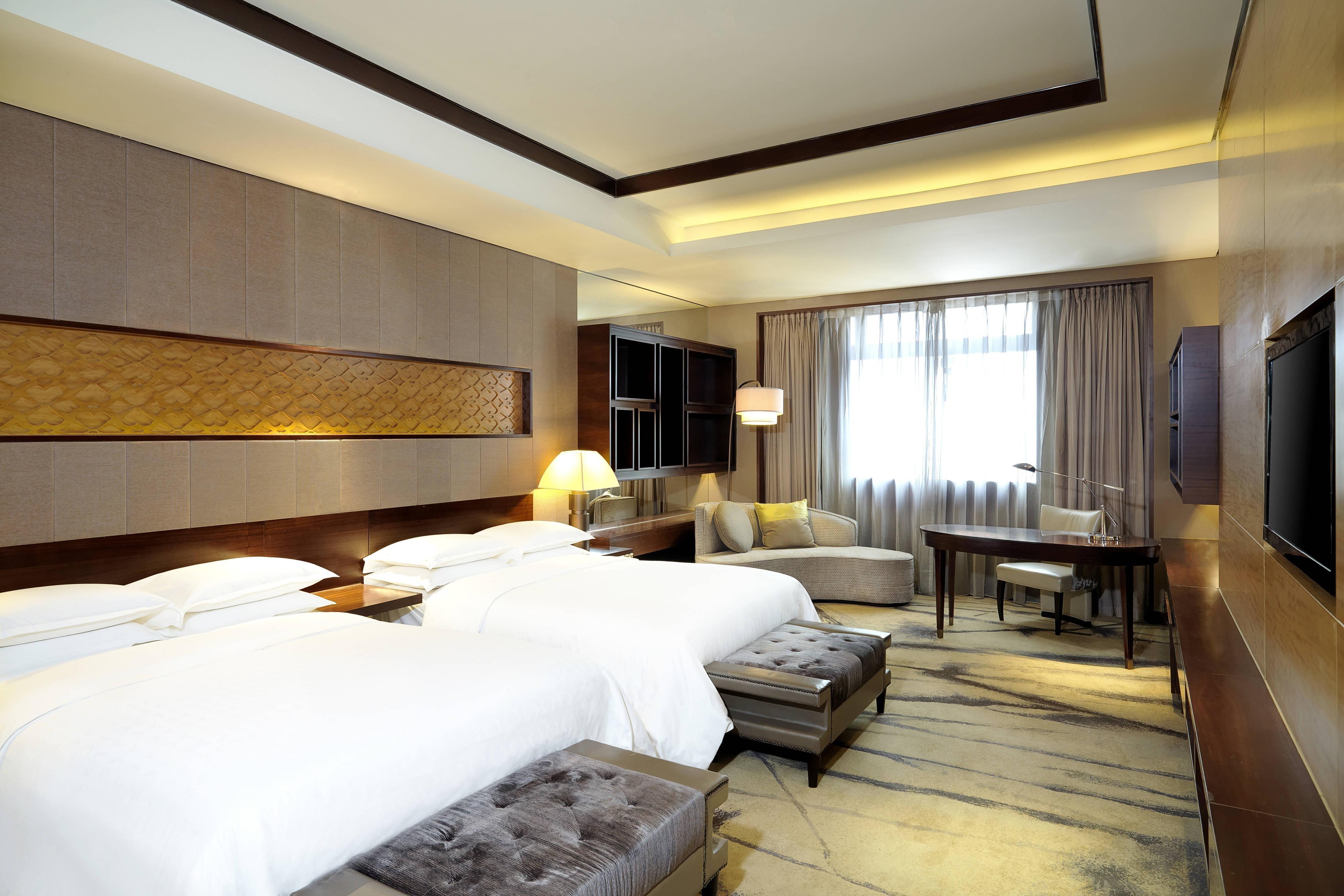 Executive Gästezimmer mit zwei Einzelbetten