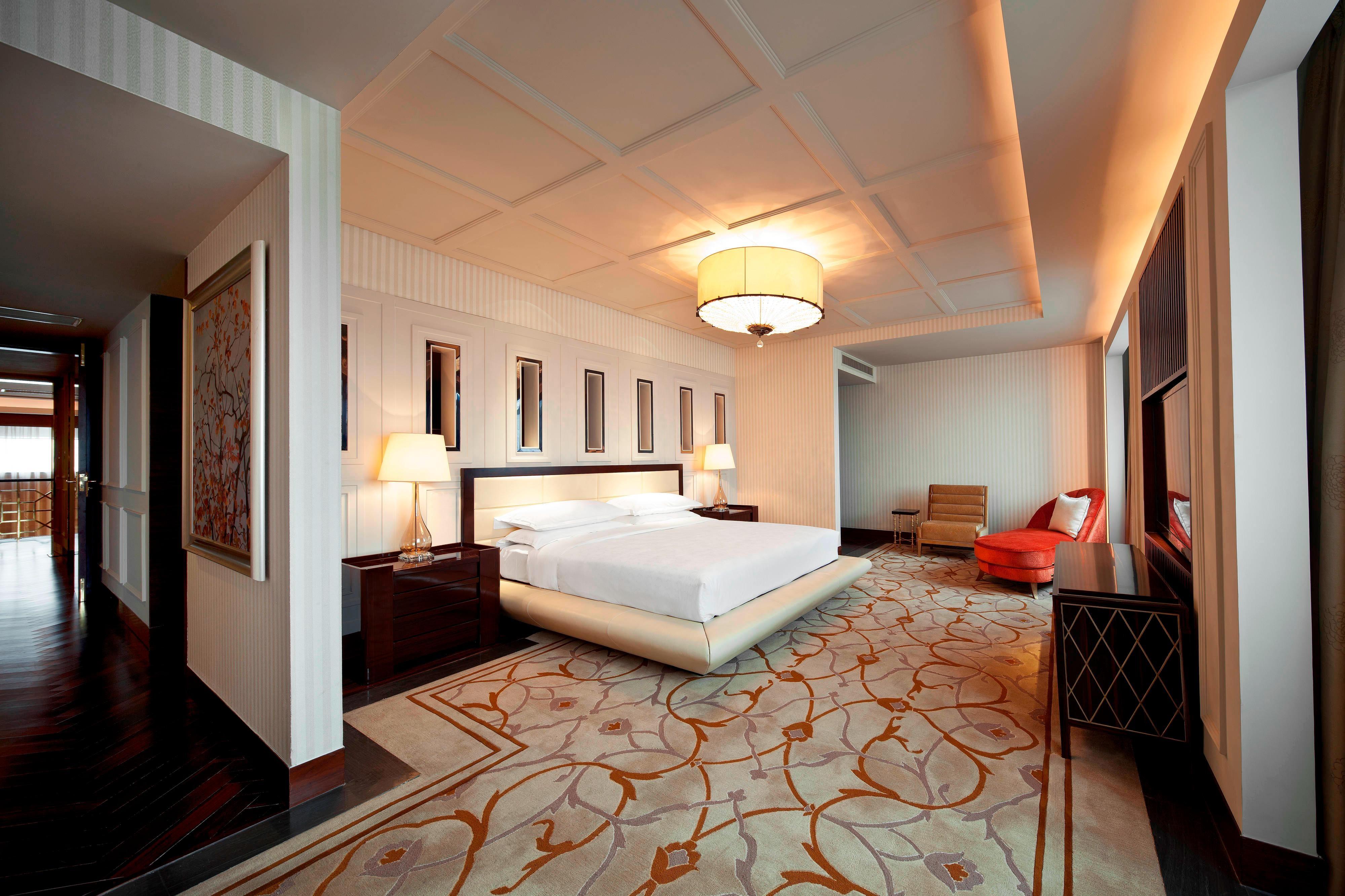 Präsidenten Suite– Schlafzimmer