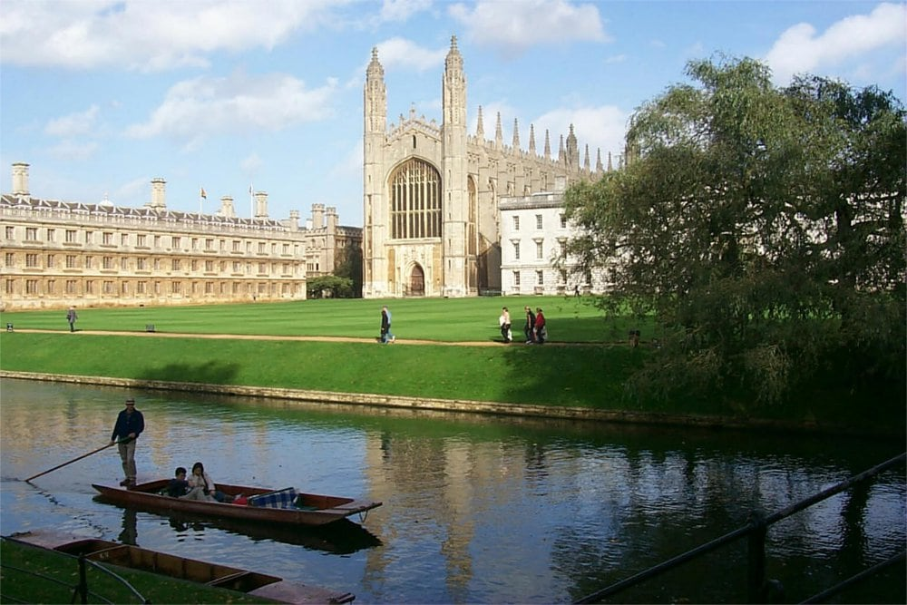 Hotel near Kings College, Cambridge
