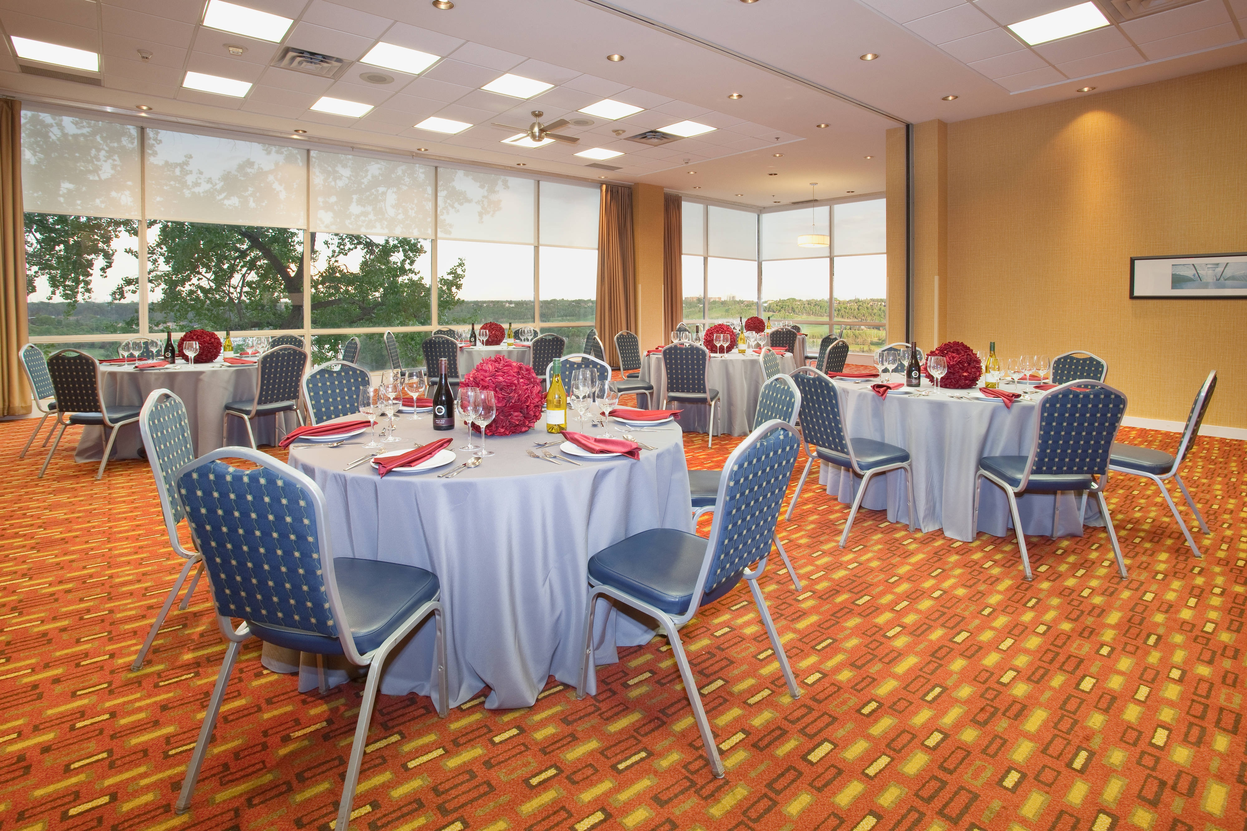 Thornton Meeting Room – Social Event Setup