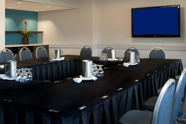 Medicine Hat Meeting Room – Hollow Square Setup