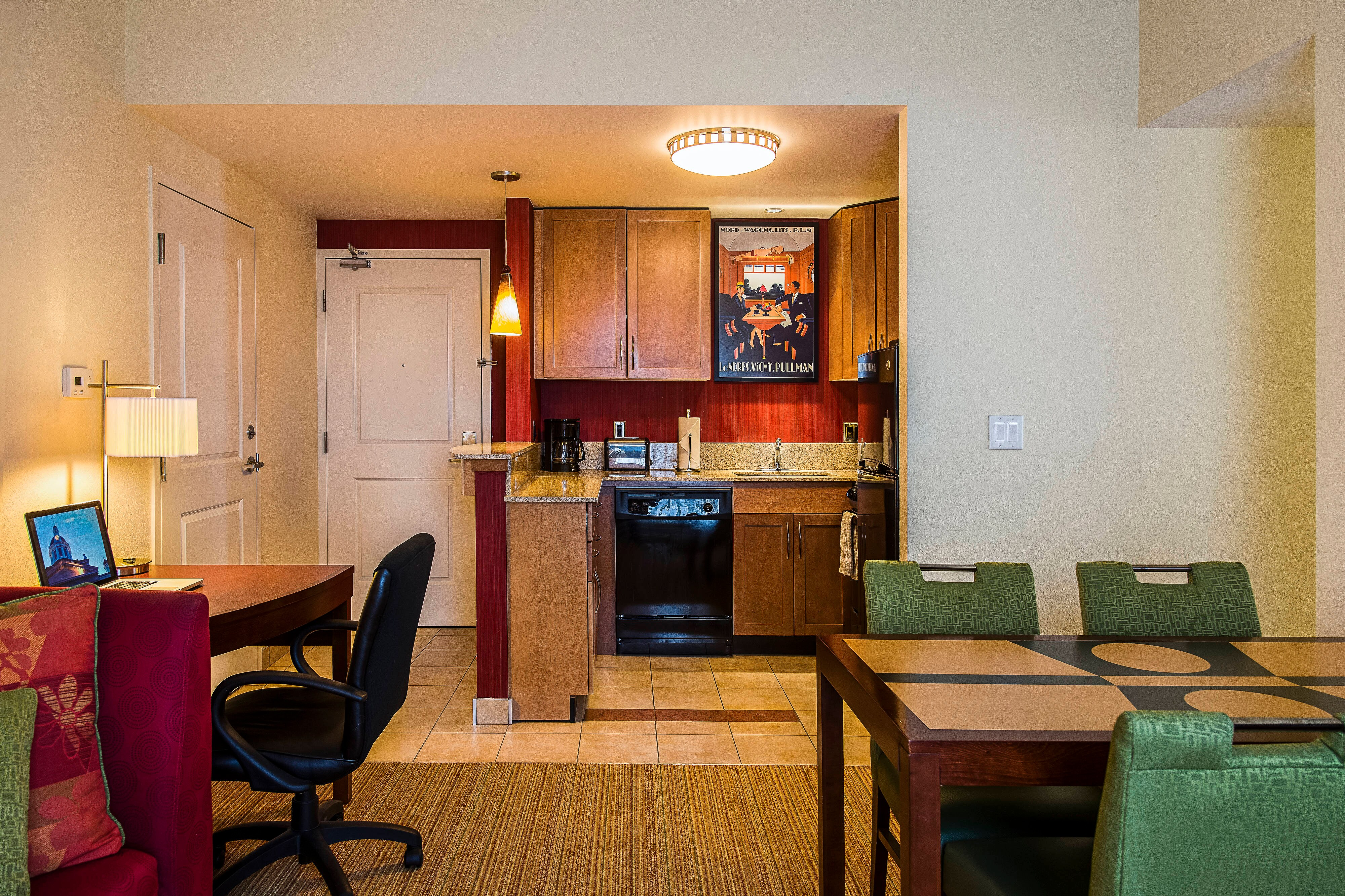 Two-Bedroom Suite Kitchen & Dining Area