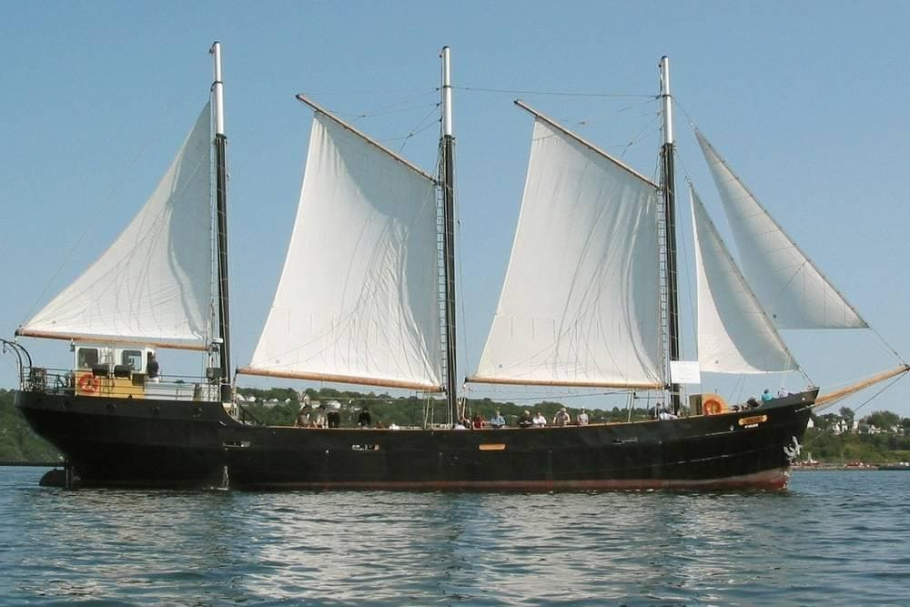 Tall Ship Silva, dans le port d'Halifax