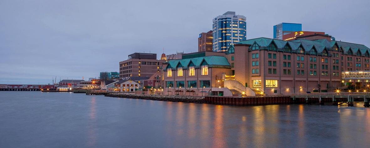 Halifax harbourfront hotel exterior