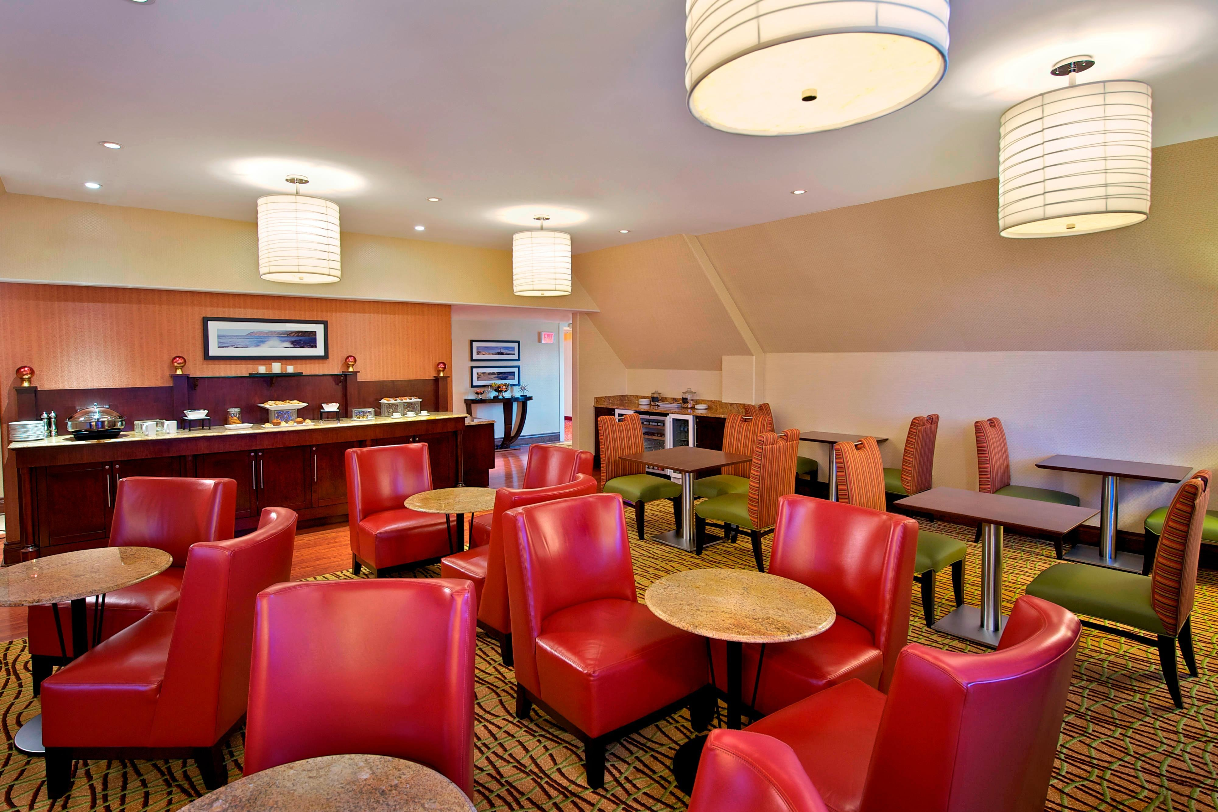 Halifax waterfront  hotel concierge lounge