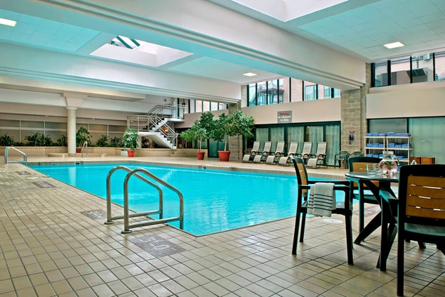 Halifax hotel with pool