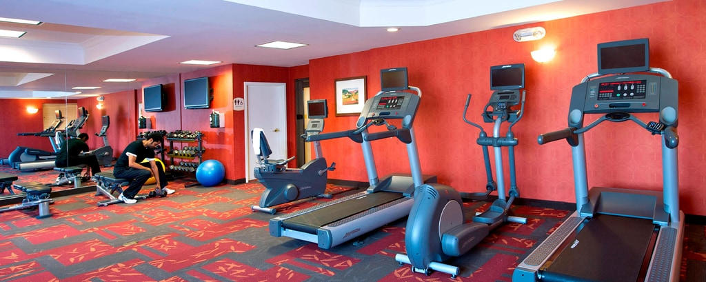 Halifax hotel with fitness center