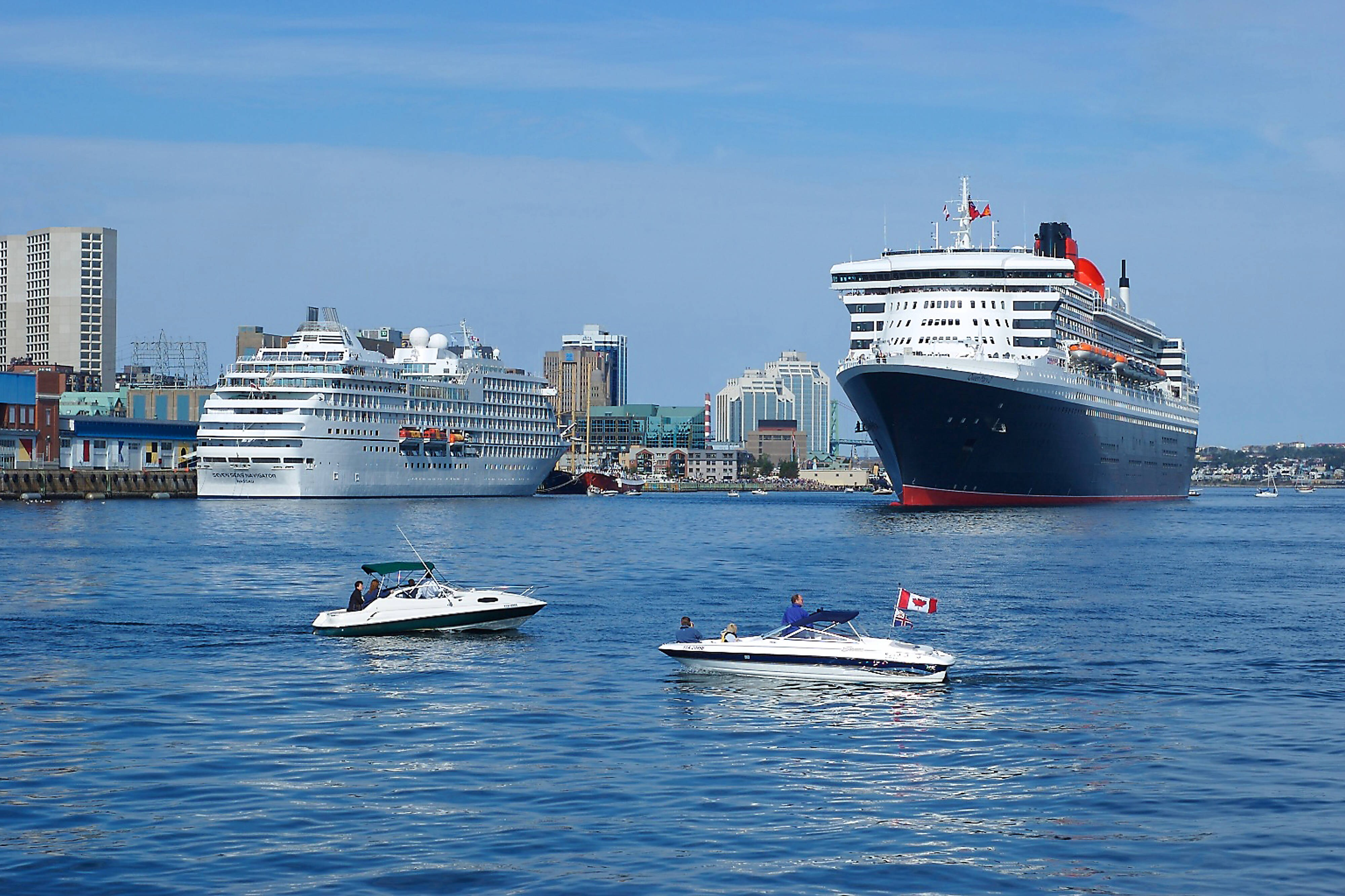 Cruise Ships in the Halifax Harbour
