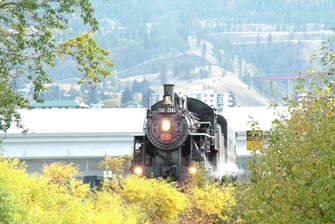 Locomotive 2141, le Spirit of Kamloops