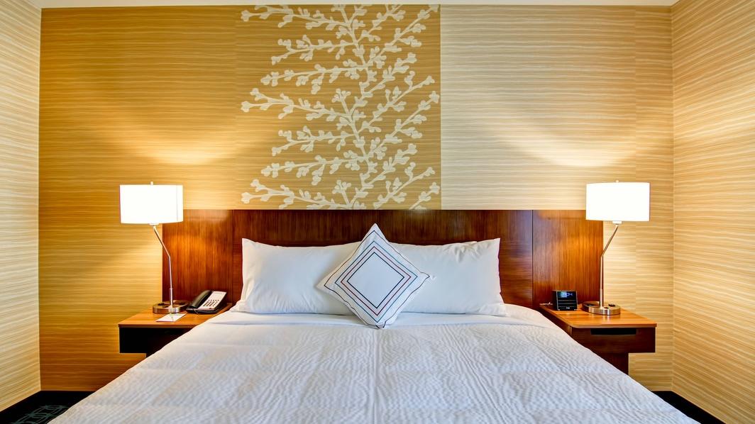 Bett im Fairfield Kamloops