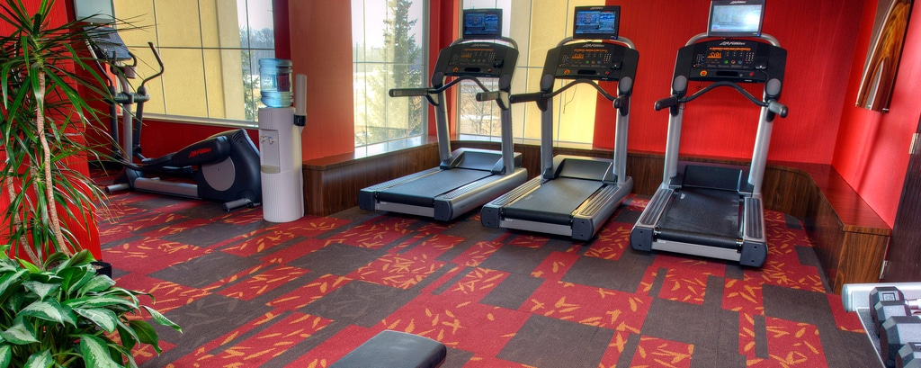 Gimnasio del Courtyard by Marriott