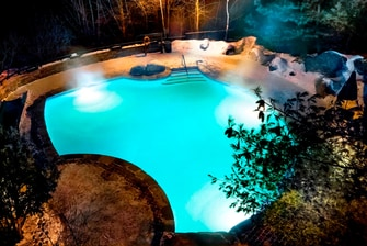 Outdoor Saltwater Pool