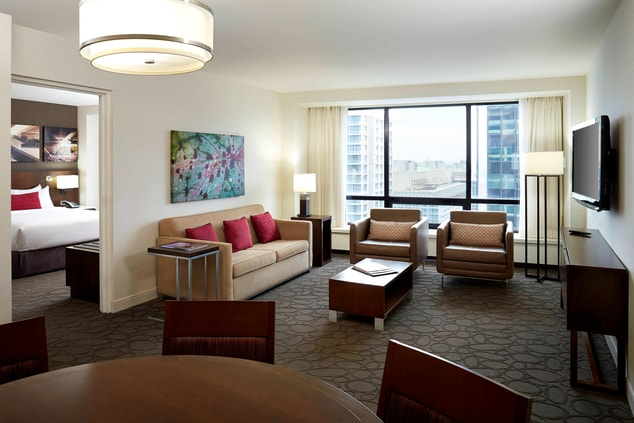 Downtown Ottawa hotel suite