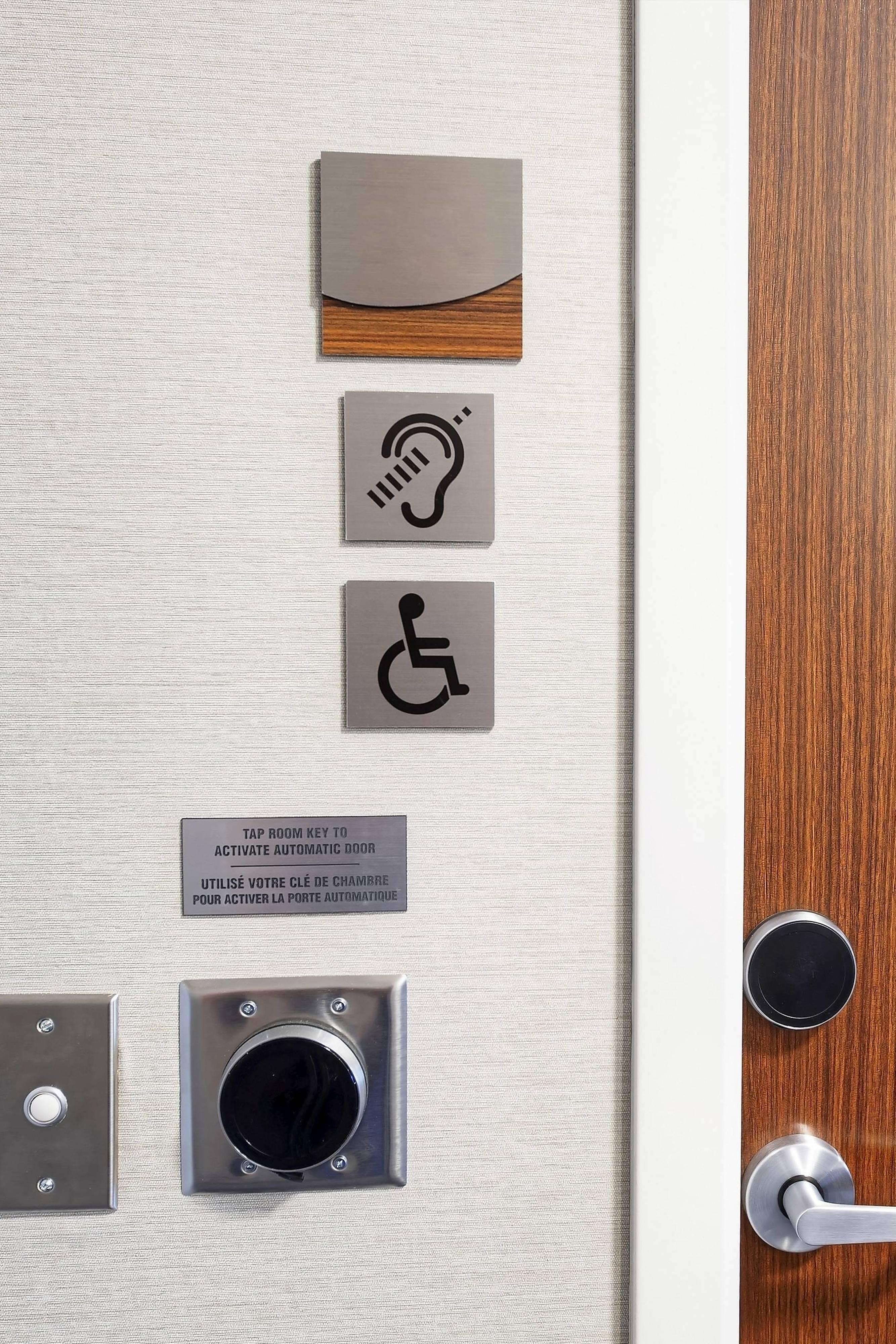Accessible Features