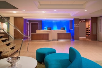 Fairfield Inn & Suites Front Desk Reception