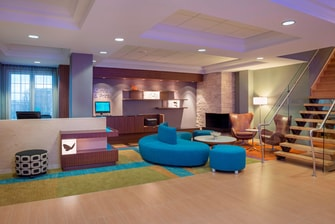 Fairfield Inn & Suites Hotel Lobby
