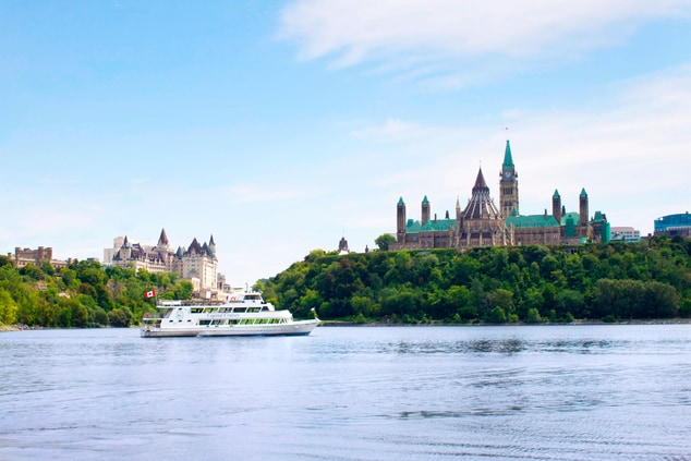 Cruising on the Ottawa River