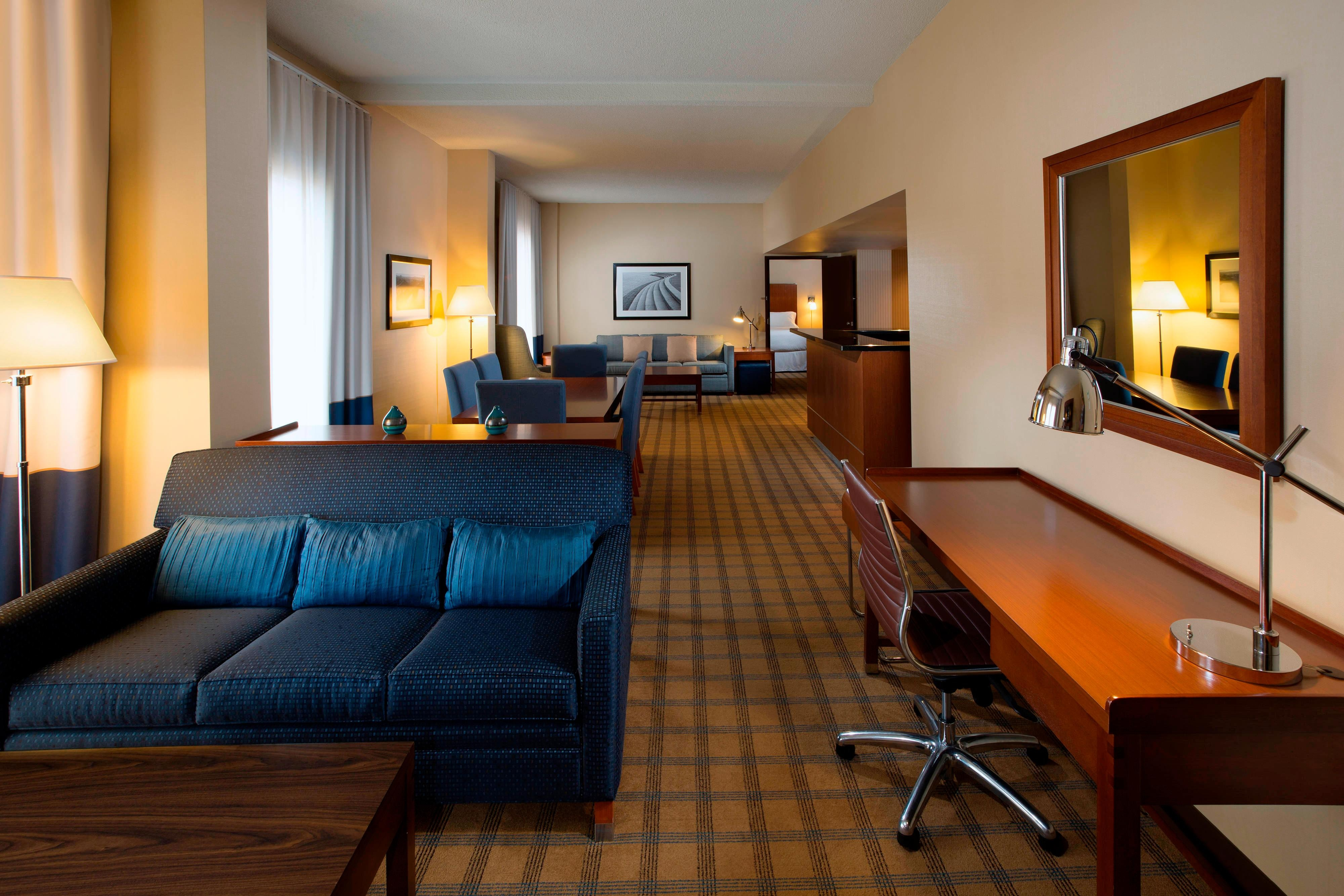 Hospitality Suite with connecting Guest Room