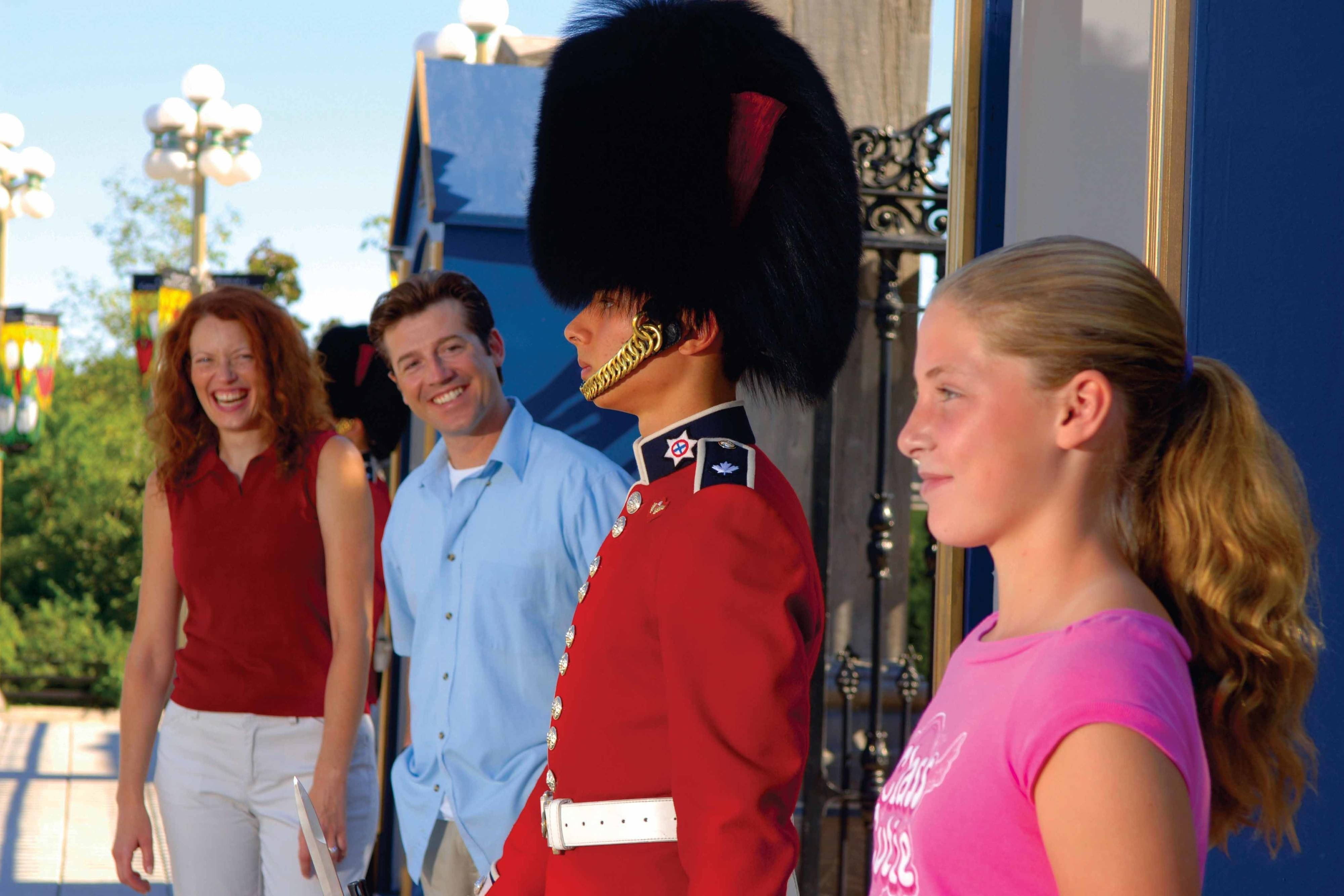 Ottawa's Rideau Hall ceremonial guard