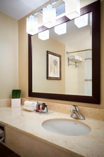 Downtown Ottawa hotel guest bathroom