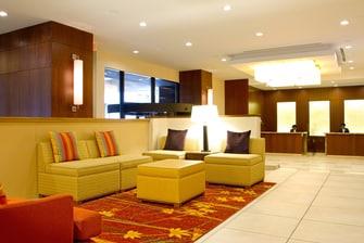 Espace détente de la salle Great Room de l'hôtel en centre-ville à Ottawa