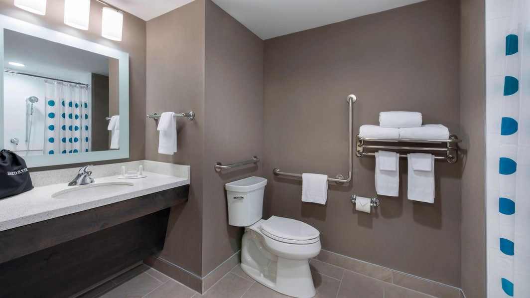 TownePlace Suites Accessible Guest Bathroom
