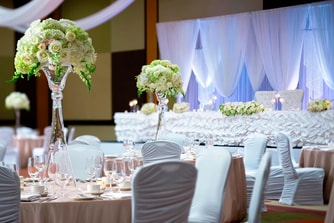 Ballroom Wedding Detail
