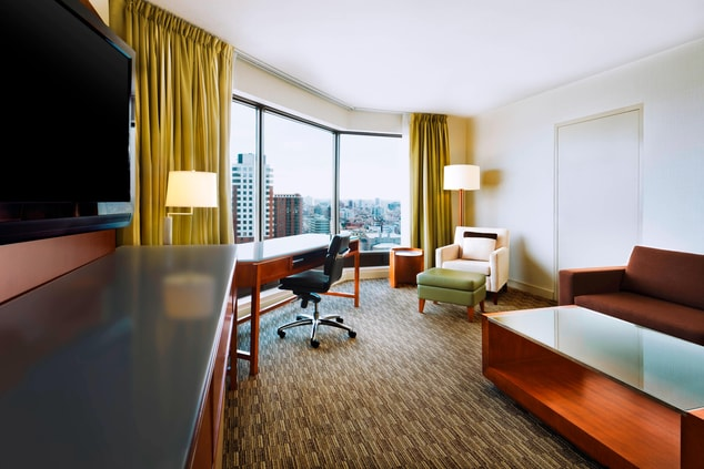 Living Room of the Junior Suite