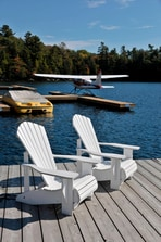 Resort Boat Dock Seating