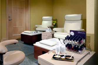 Pedicures at Spa Rosseau