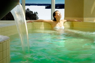 Women's indoor whirlpool Spa Rosseau