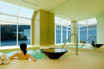 Indoor Whirlpool at Spa Rosseau