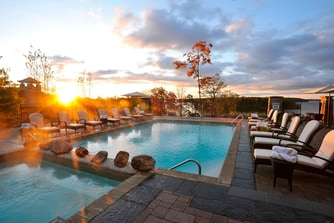 Muskoka Resort Spa Pool