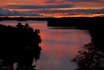 Canada Resort Lake Rosseau Sunset
