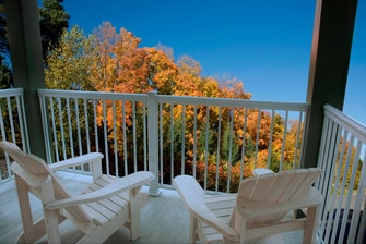 Balcony Fall Foliage View