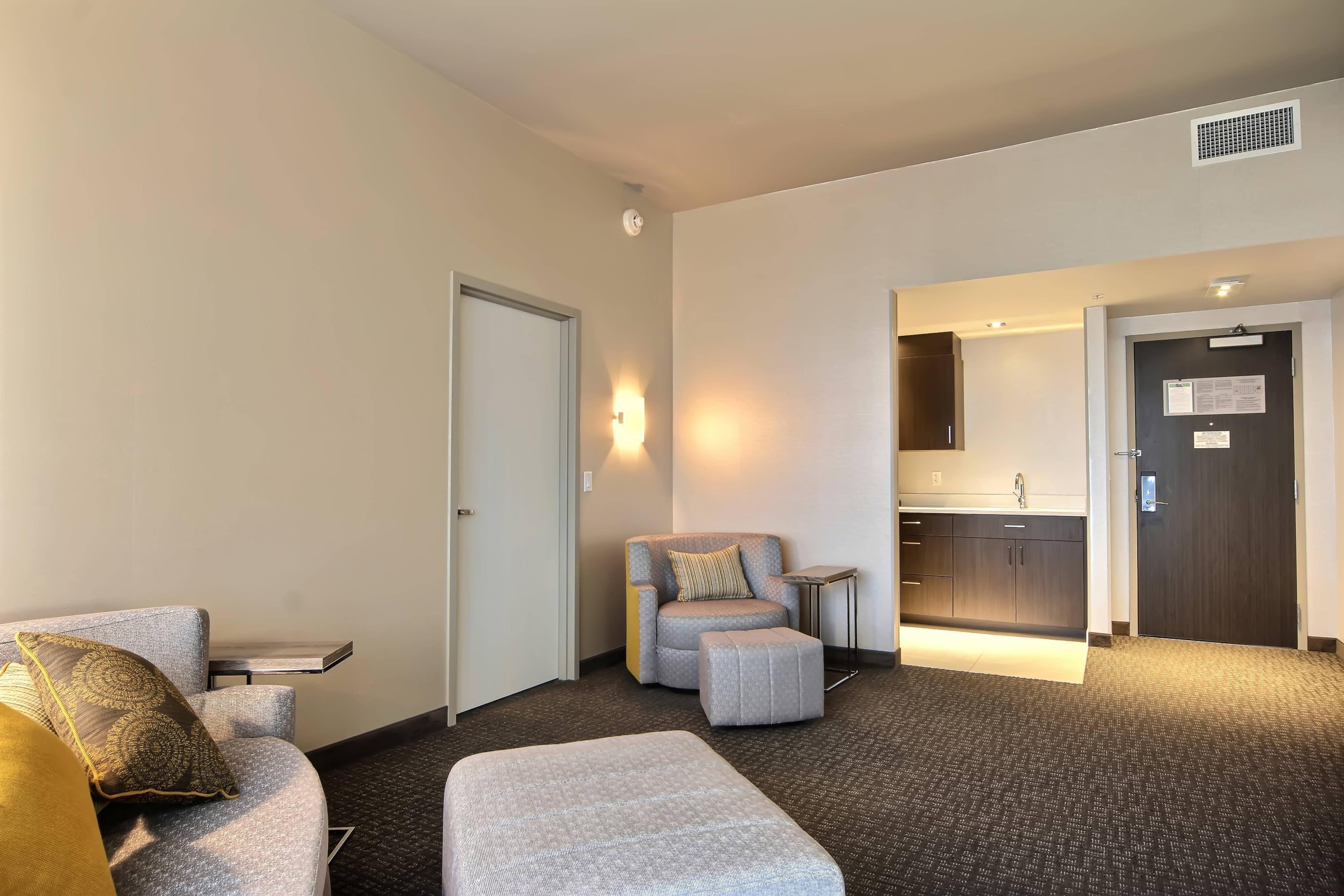 Suite Executive con letto matrimoniale king con una camera da letto - Soggiorno