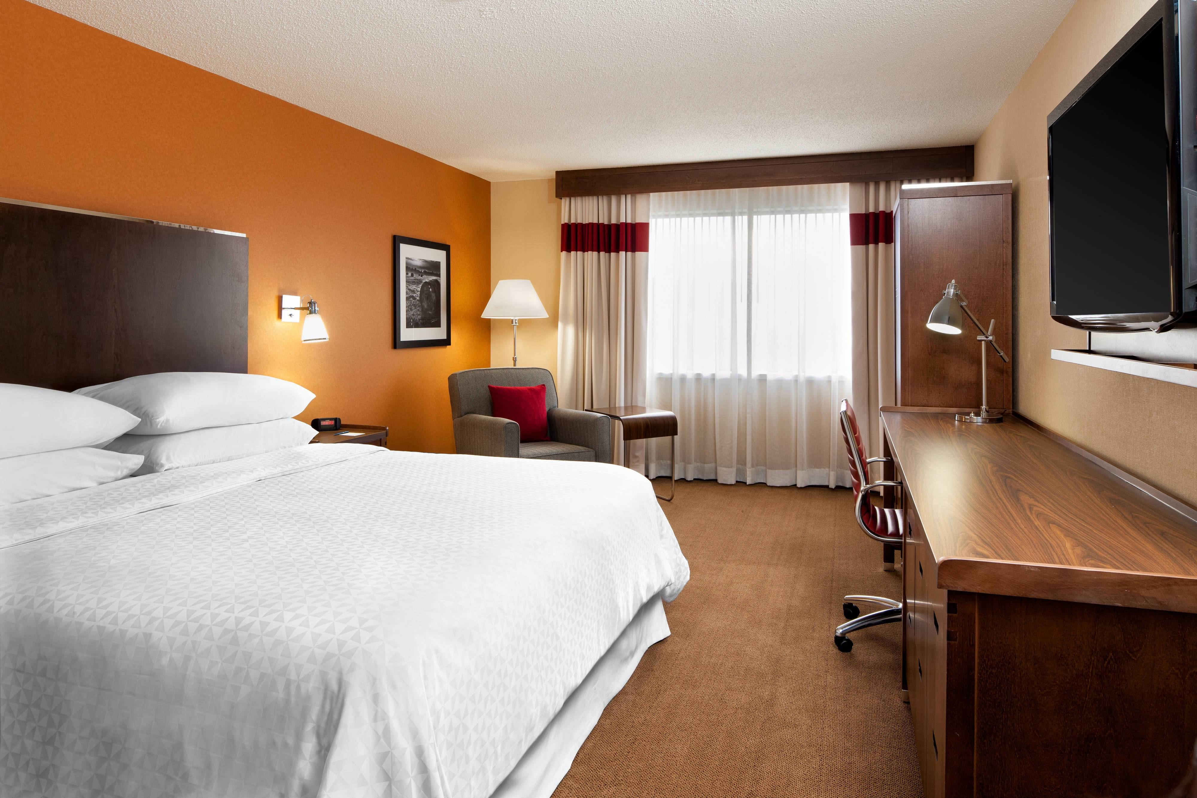 Deluxe-Zimmer mit Kingsize-Bett