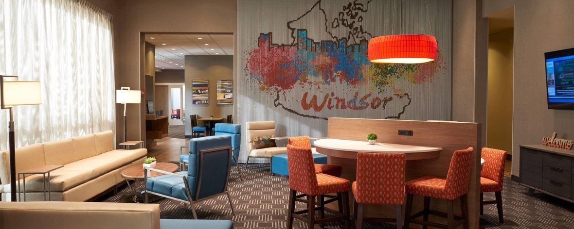 Downtown Hotels in Windsor, Ontario, Canada | TownePlace Suites Windsor