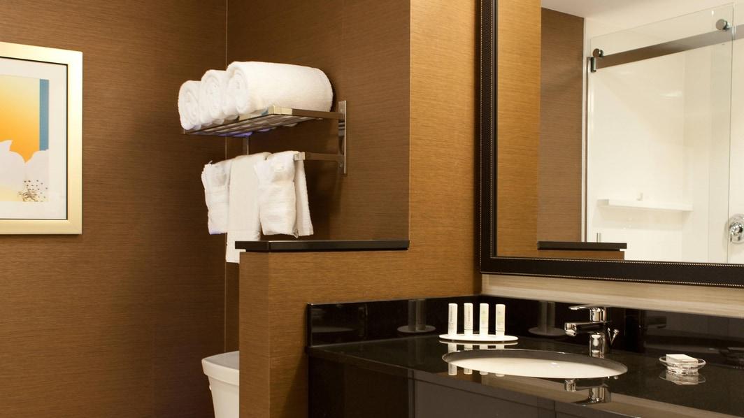 Salle de bain d'une chambre