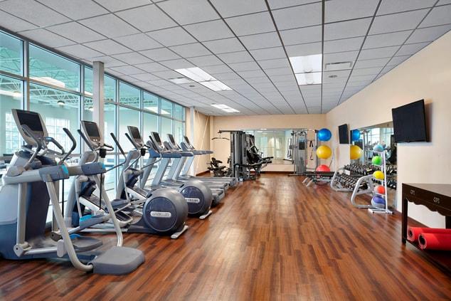 st Andrews hotel fitness center